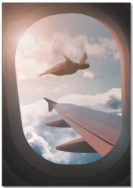 Flying Turtle Carnet de note