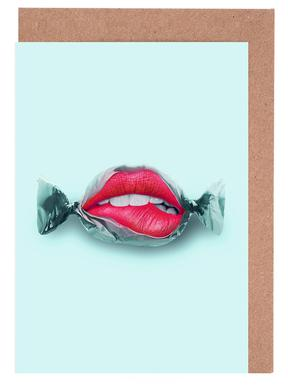 Candy Lips Greeting Card Set