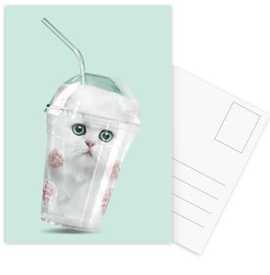 Catshake -Postkartenset