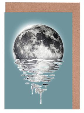 Melting Moon Greeting Card Set