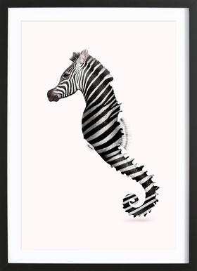 Zeahorse Poster in Wooden Frame