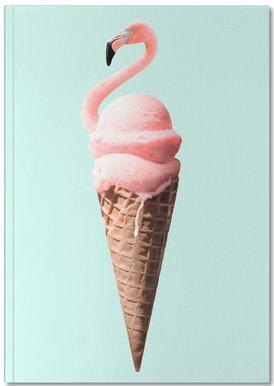 Flamingo Cone Notebook