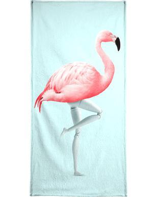Flamingo Mannequin handdoek