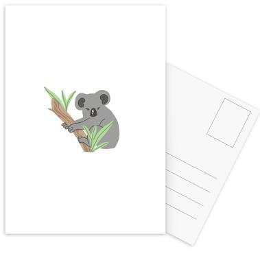 Koala Postcard Set