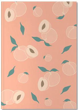 Peach Party Anteckningsbok