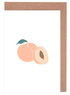 Peaches Greeting Card Set