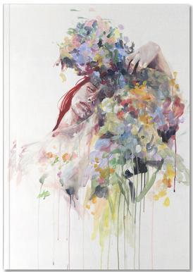 Scentless Flowers Carnet de note