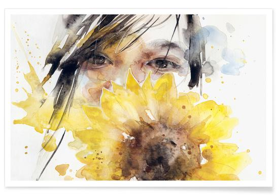 Sunflower Girl affiche