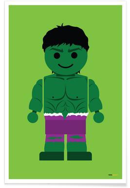 Hulk Toy Poster