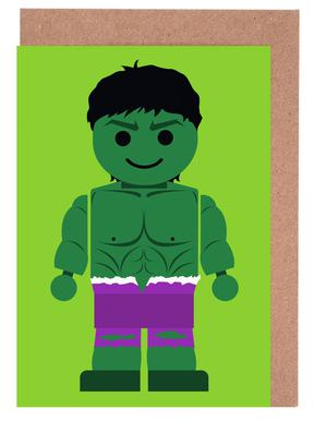 Hulk Toy cartes de vœux
