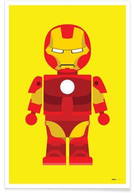 Iron Man Toy   Rafa Gomes   Affiche ...