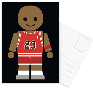 Michael Jordan Toy Postcard Set