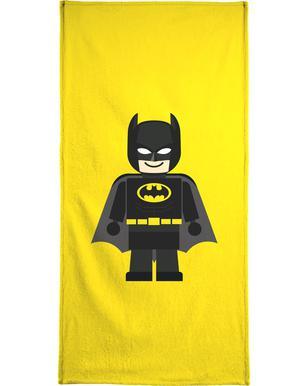 batman toy rafa gomes hand bath towel - Batman Bathroom