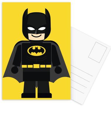 Batman Toy Set de cartes postales