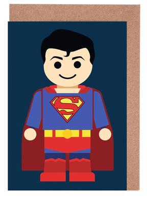 Superman Toy Set de cartes de vœux