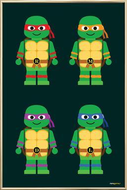 Ninja Turtles Slaapkamer.Teenage Mutant Ninja Turtles Poster Juniqe
