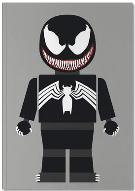 Venom Toy Notebook
