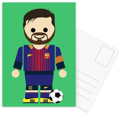 Messi Toy Postcard Set