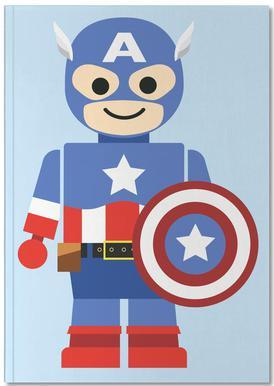 Captain America Toy Carnet de note