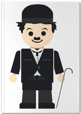 Chaplin Toy Carnet de note