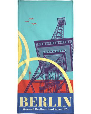 Berlin Funkturm Bath Towel
