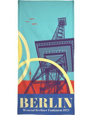 Berlin Funkturm strandlaken