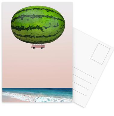 Melon Ship ansichtkaartenset