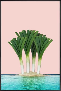 Palm Beach Affiche sous cadre standard