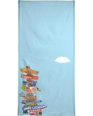 Directions handdoek