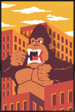 Ape Poster in Standard Frame