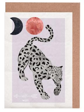 Spirit Animal - Jaguar cartes de vœux