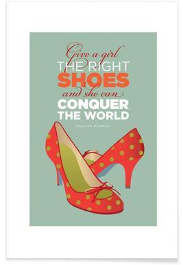 Monroe Shoes Affiche