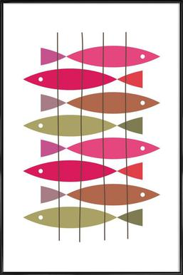 Fish 1 Framed Poster