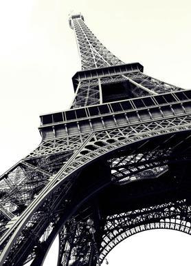 Tour Eiffel -Leinwandbild