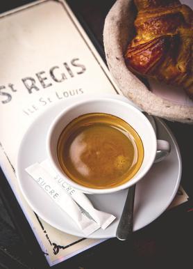 Café Leinwandbild
