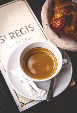 Café Alu-Dibond Druck