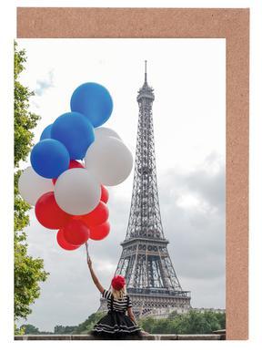 Vive La France Grußkartenset