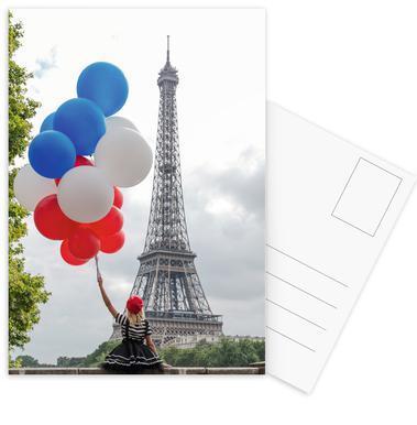 Vive La France Postkartenset