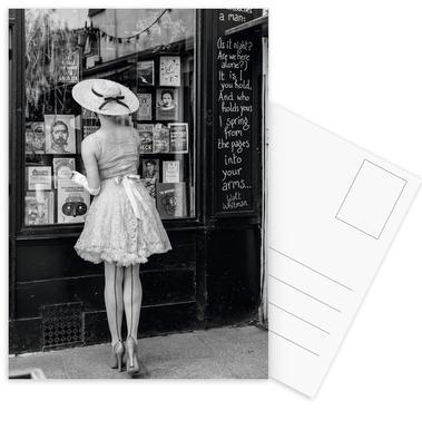 Window Shopping -Postkartenset
