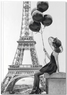 Black Balloons Carnet de note