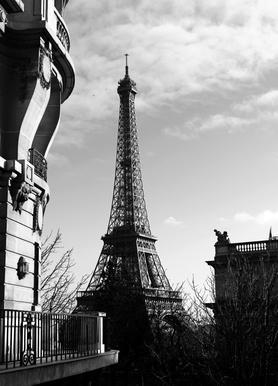Paris -Leinwandbild