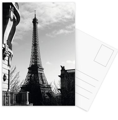 Paris Postcard Set