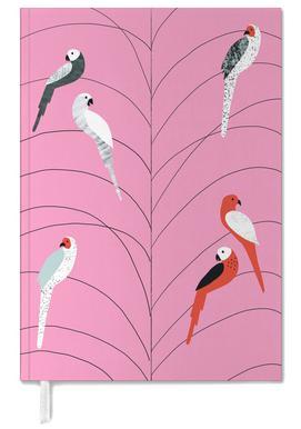 Tropicana - Birds on Branch Pink -Terminplaner