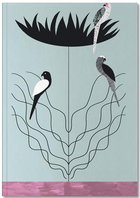 Tropicana - Big Flower Notebook