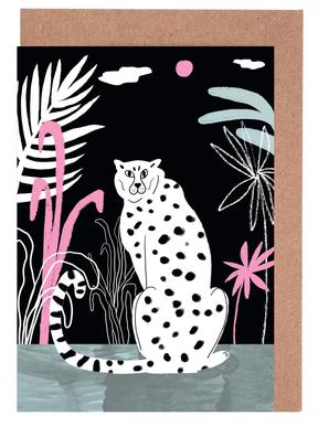 Tropicana - Cheetah and Jungle Greeting Card Set