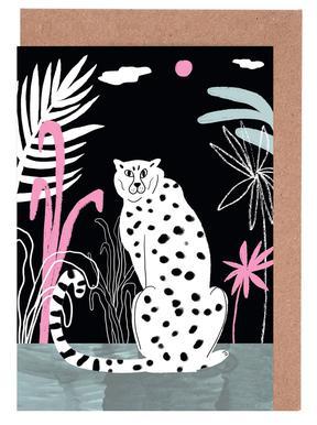 Tropicana - Cheetah and Jungle Set de cartes de vœux