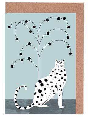 Tropicana - Cheetah and Tree Set de cartes de vœux