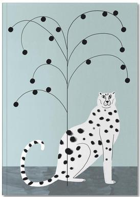 Tropicana - Cheetah and Tree Carnet de note