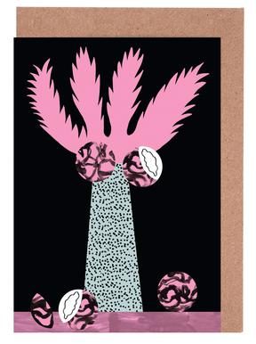 Tropicana - Cabbage Palm -Grußkarten-Set