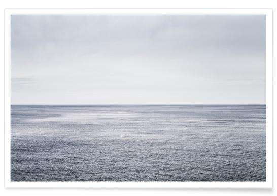 Ocean Study I Affiche